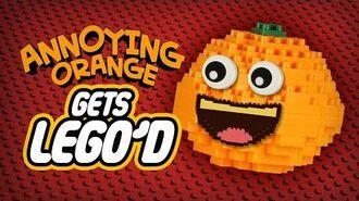 Annoying Orange Gets LEGO'd!