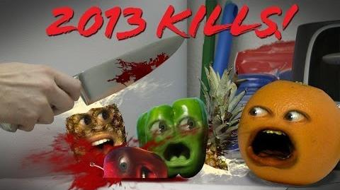 Annoying Orange: 2013 Kills Montage and Marshmallow Announcement