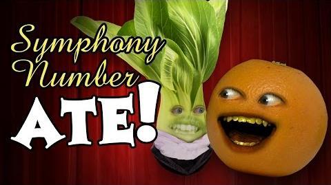 Annoying Orange - Symphony Number Ate (feat. David Choi)