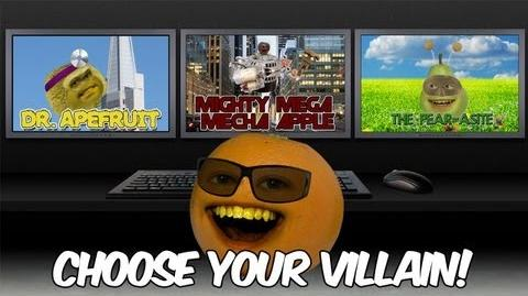 Annoying Orange: Despicable Me 2: Choose Your Villain!