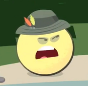 Cartoon Grapefruit