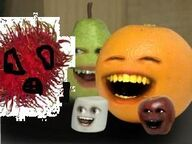 Annoying Orange Hair-Fruit
