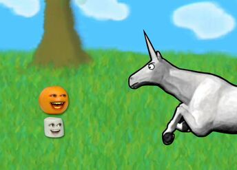 Charlie the Unicorn Annoying Orange