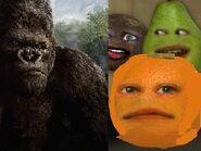 Annoying Orange Meets King Kong