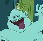 Fat boy boo head