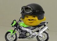 Grandpa Lemon's Motorcycle