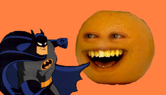 Annoying Orange Batman
