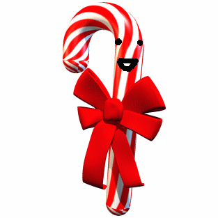 3D Candy Cane