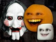 Annoying Orange Annoying Saw 2 The Annoying Death Trap