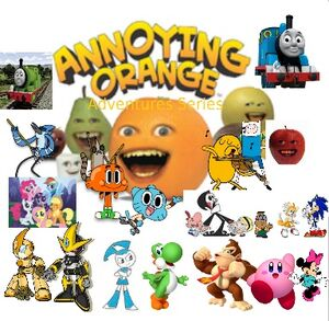 Annoying Orange's Adventures Series Poster