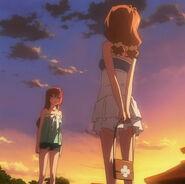 Spotkanie Kaori i Ichiki