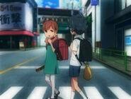 Kaito i Kaori w dzieciństwie