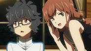Kaori rozmawia z Kaito