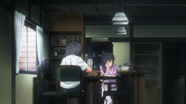File:Kaito and Nanami at the table in Episode 1.png