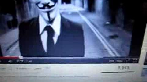 ANONYMOUS is a JOKE and the JOKE IS ON YOU!!! ANON uses UN LOGO
