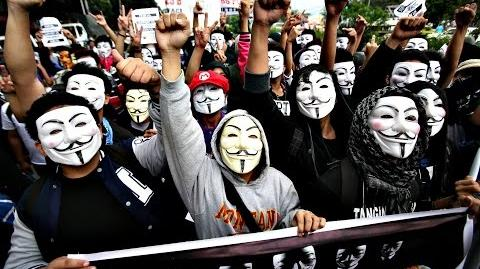 Anonymous - United as one, divided by zero