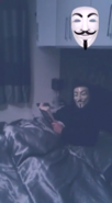 Anonymous In bed