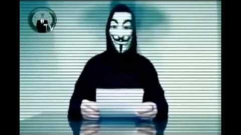 Anonymous Message to the BBC
