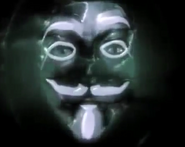 Anonymous Silver Mask