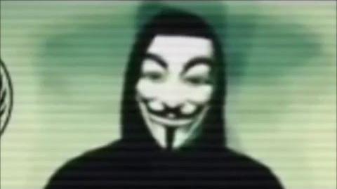 Anonymous Message Donald Trump Description