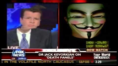 Anonymous Hacks Fox News Live on Air - 2015