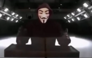 Anonymous in an unknown place