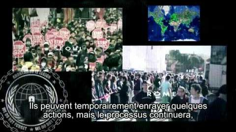 Anonymous message to world leaders. This is wonderful ) SOUS-TITRES FRANCAIS