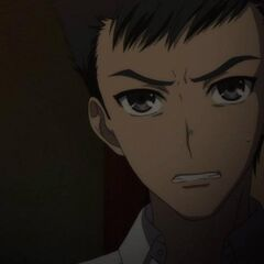 Kenzou confronts Kouichi.