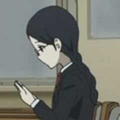 Sayuri reading yet again. It takes something pretty drastic to make this girl put her book down.