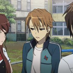 Izumi with Teshigawara and Kouichi.