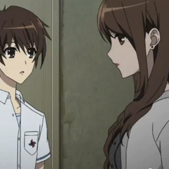 Mikami ignores Kouichi.