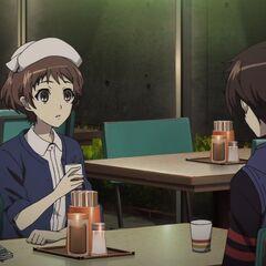 Sanae and Kouichi.