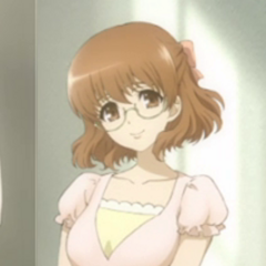 Yukari appearance in the anime ending.