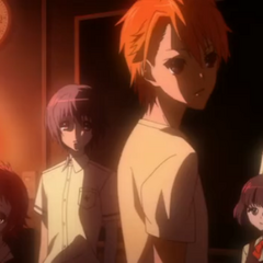 Teshigawara and the others in Kouichi's dream.