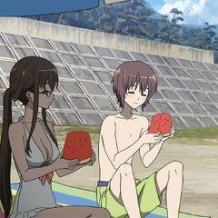 Reiko and Yuuya.