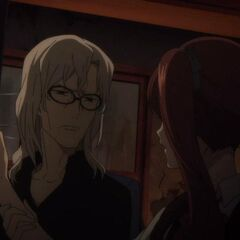 Izumi is stopped by Chibiki-Sensei from further abusing Tomohiko.