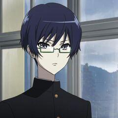 Tomohiko in class.