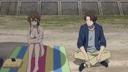 Matsunga and Reiko's talk