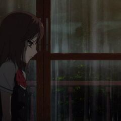 More withdrawn since the deaths of her brother and Aya, Yumi sits alone in her room.