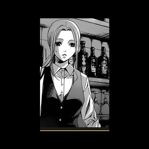 Tomoka's cafe uniform in the manga