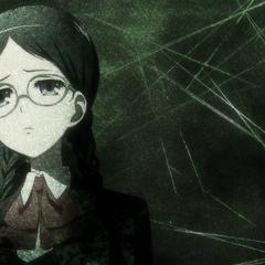 Sayuri in the opening. She's inherited both Takako's manga hair and her spot in the anime's opening.