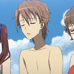 Naoya, Izumi, and Takako.