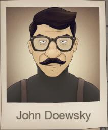 As John Doewsky
