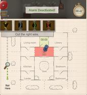 Curious circumstances hall alarm