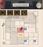 Enigmatic escape alarm 4