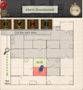 Vanishing visitors alarm 3
