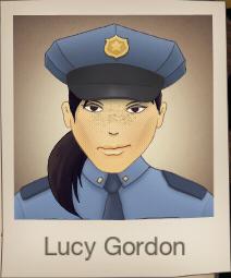 With uniform