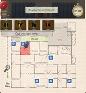Enigmatic escape alarm 1