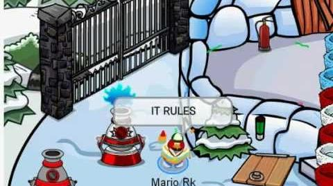 Club Penguin Island Adventures 4th of July Short
