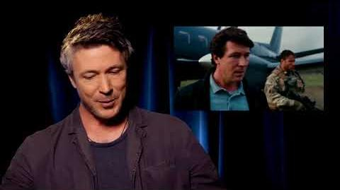 "Aidan Gillen on his role as Bill ""CIA"" Wilson - The Dark Knight Rises Interview"